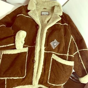Wilsons leather winter jacket size XXL